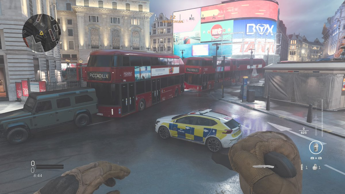 Infinity Ward adds 24/7 Piccadilly playlist to Modern Warfare as an April Fools' joke
