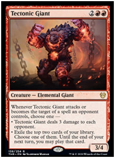 Tectonic Giant THB MTG