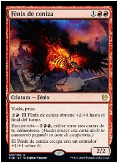 Phoenix of Ash THB Magic The Gathering