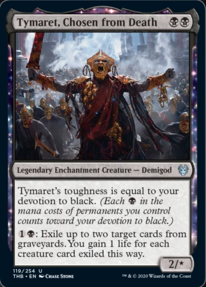Tymaret Chosen from Death Spoiler Magic Theros Beyond Death