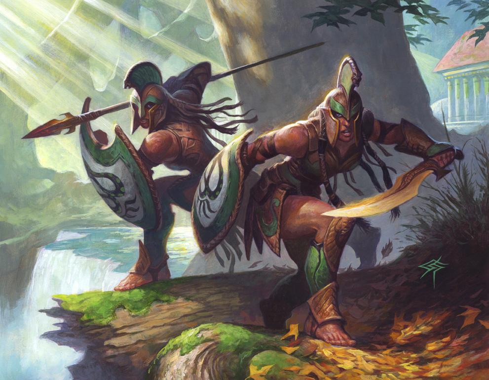 Warrior's Lesson Art Magic