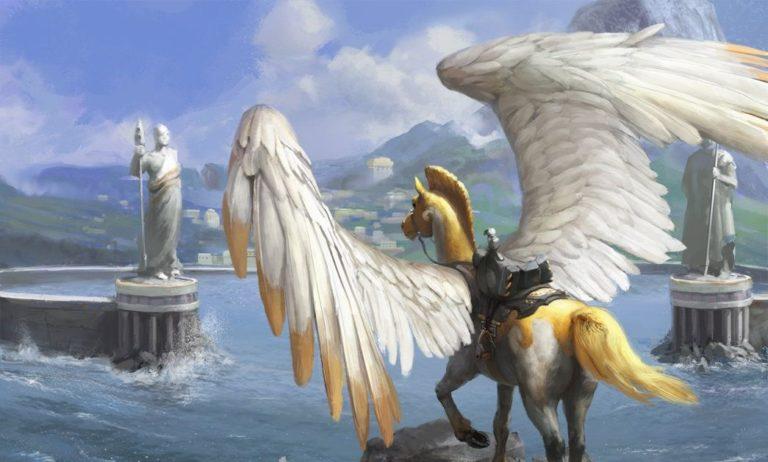 Loyal Pegasus Art Magic
