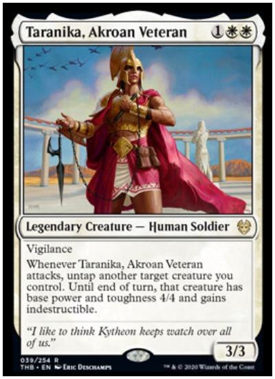 Taranika, Akroan Veteran THB MTG