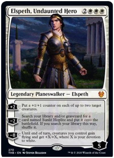 Elspeth, Undaunted Hero THB Planeswalker Deck MTG