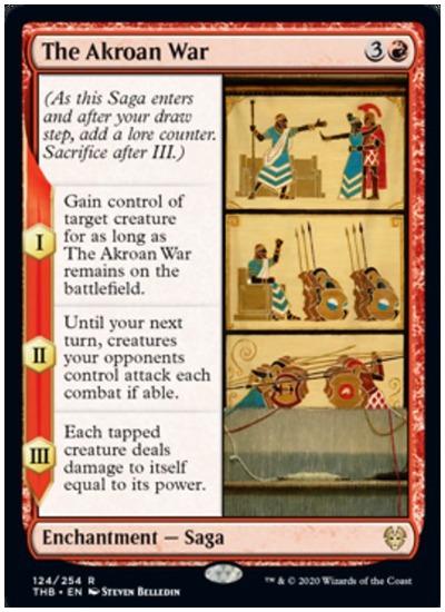 The Akroan War THB MTG