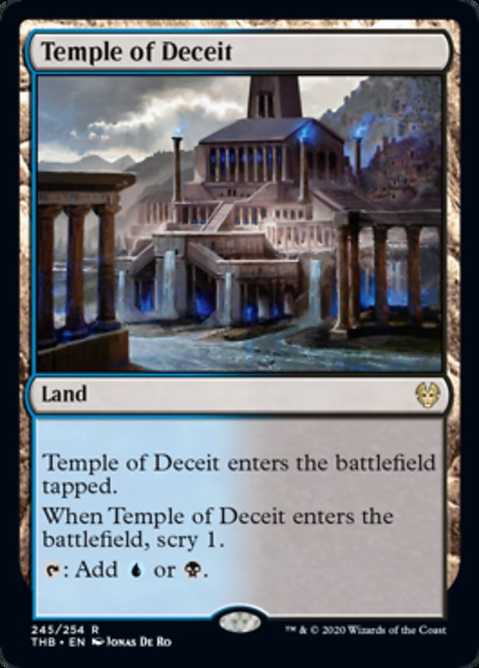 Temple of Deceit Spoiler Magic Theros Beyond Death