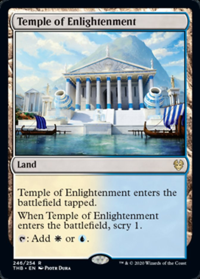 Temple of Enlightenment Spoiler Magic Theros Beyond Death
