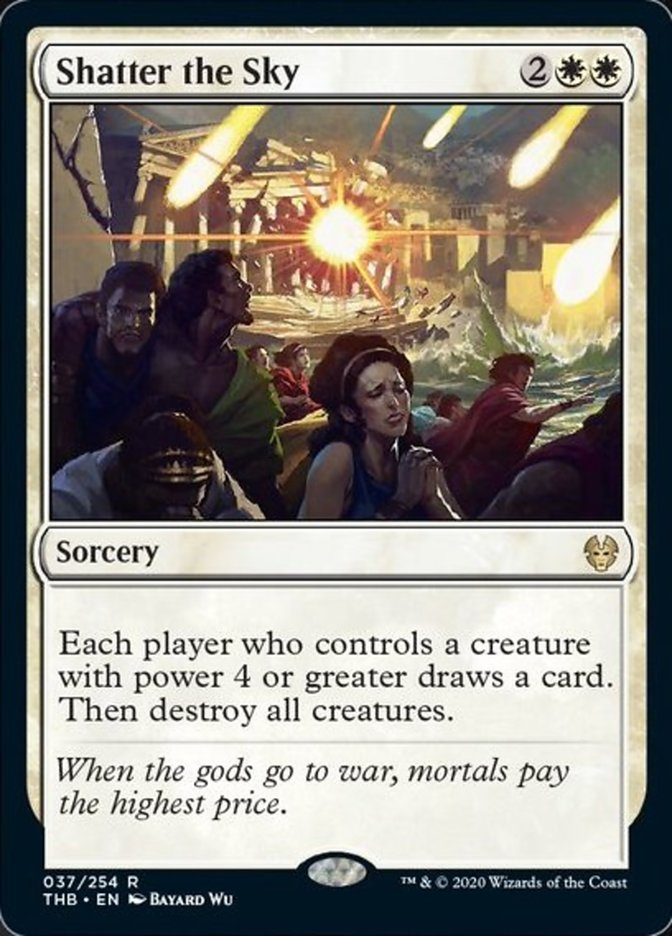 Shatter the Sky Spoiler Magic Theros Beyond Death