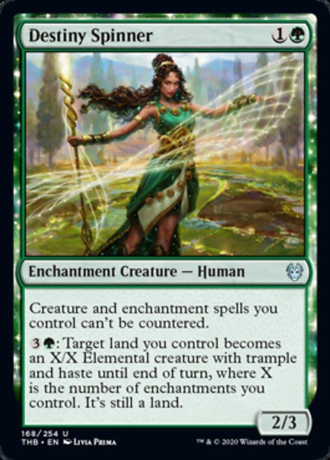 Destiny Spinner Spoiler Magic Theros Beyond Death