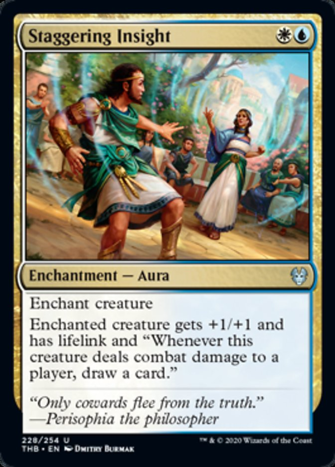 Staggering Insight Spoiler Magic Theros Beyond Death
