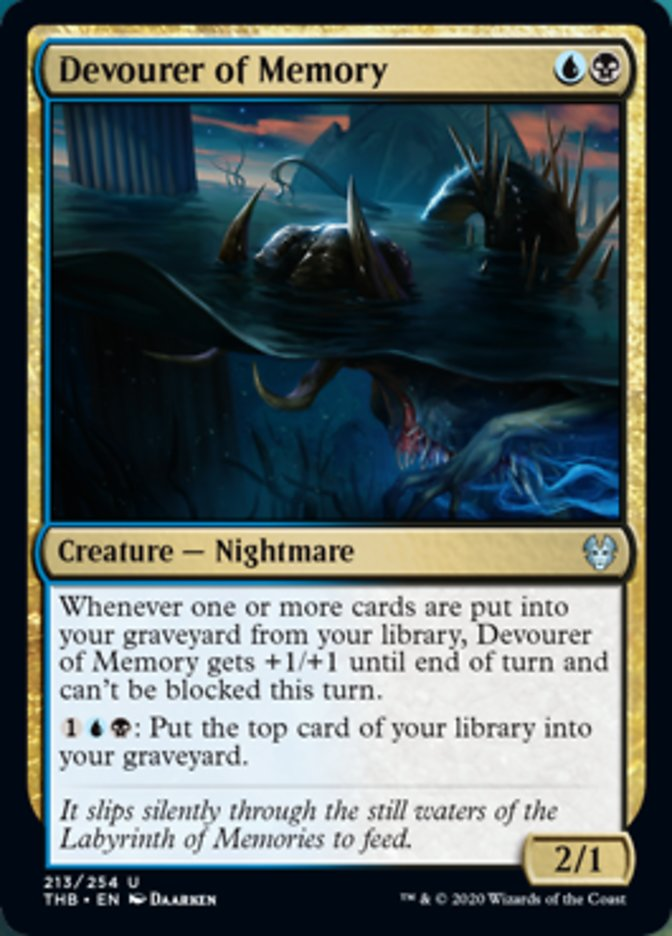 Devourer of Memory Spoiler Magic Theros Beyond Death