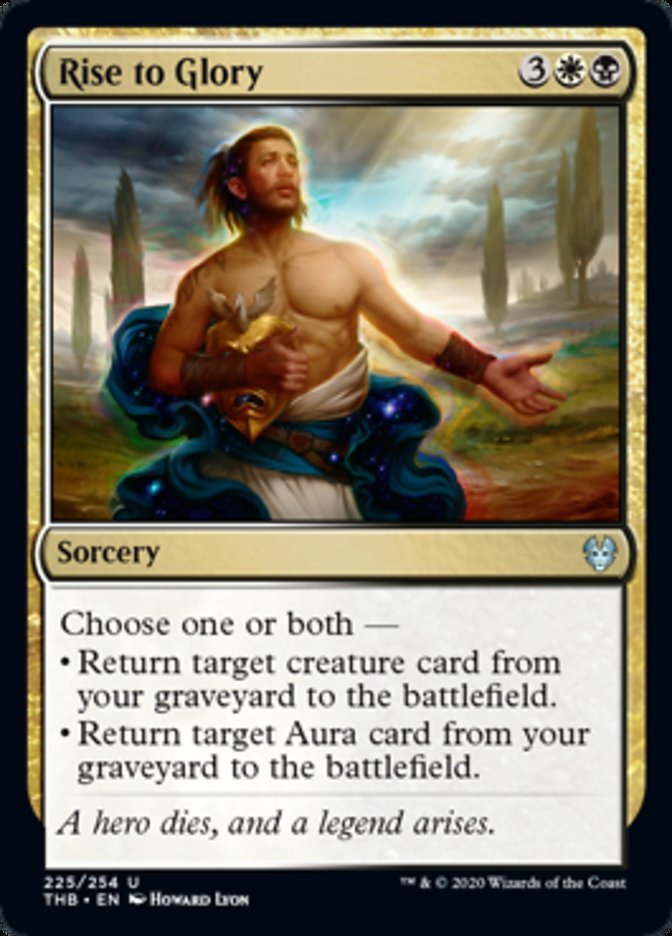 Rise to Glory Spoiler Magic Theros Beyond Death