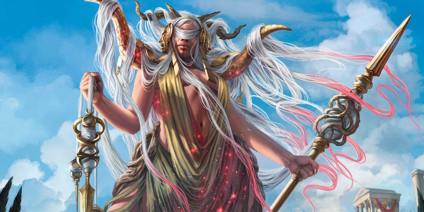 Klothys Art Magic Theros Beyond Death