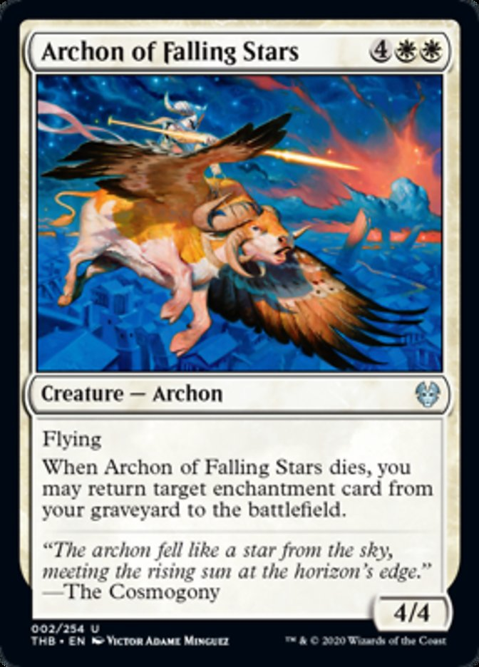 Archon of Falling Stars Spoiler Magic Theros Beyond Death