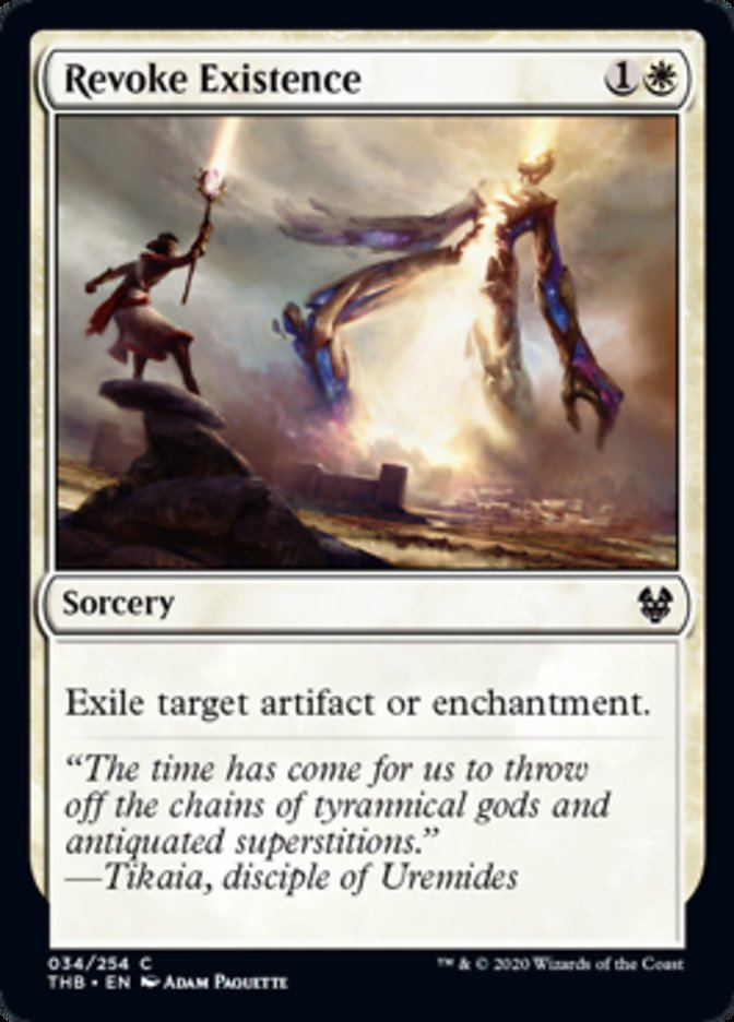 Revoke Existence Spoiler Magic Theros Beyond Death