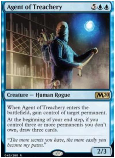 MTG Agent of Treachery