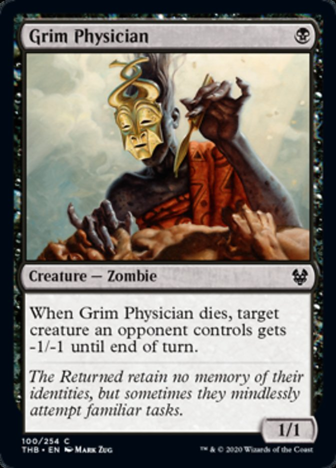 Grim Physician Spoiler Magic Theros Beyond Death