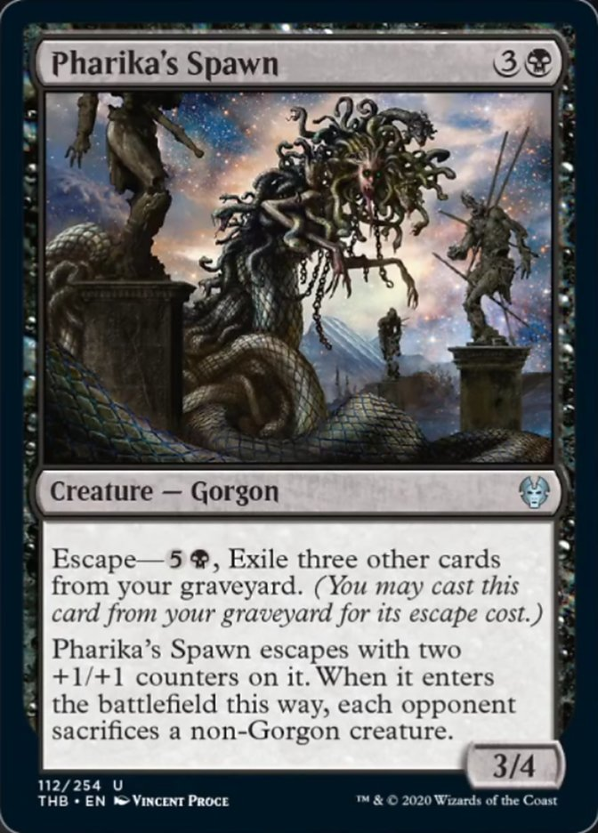 Pharika's Spawn Spoiler Magic Theros Beyond Death