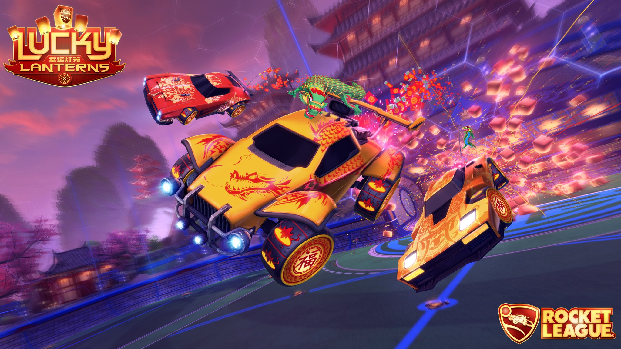 Rocket League is getting a new Lunar New Year event, Lucky Lanterns