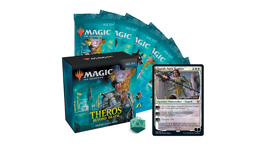 Pre-release Kit Magic Theros Beyond Death