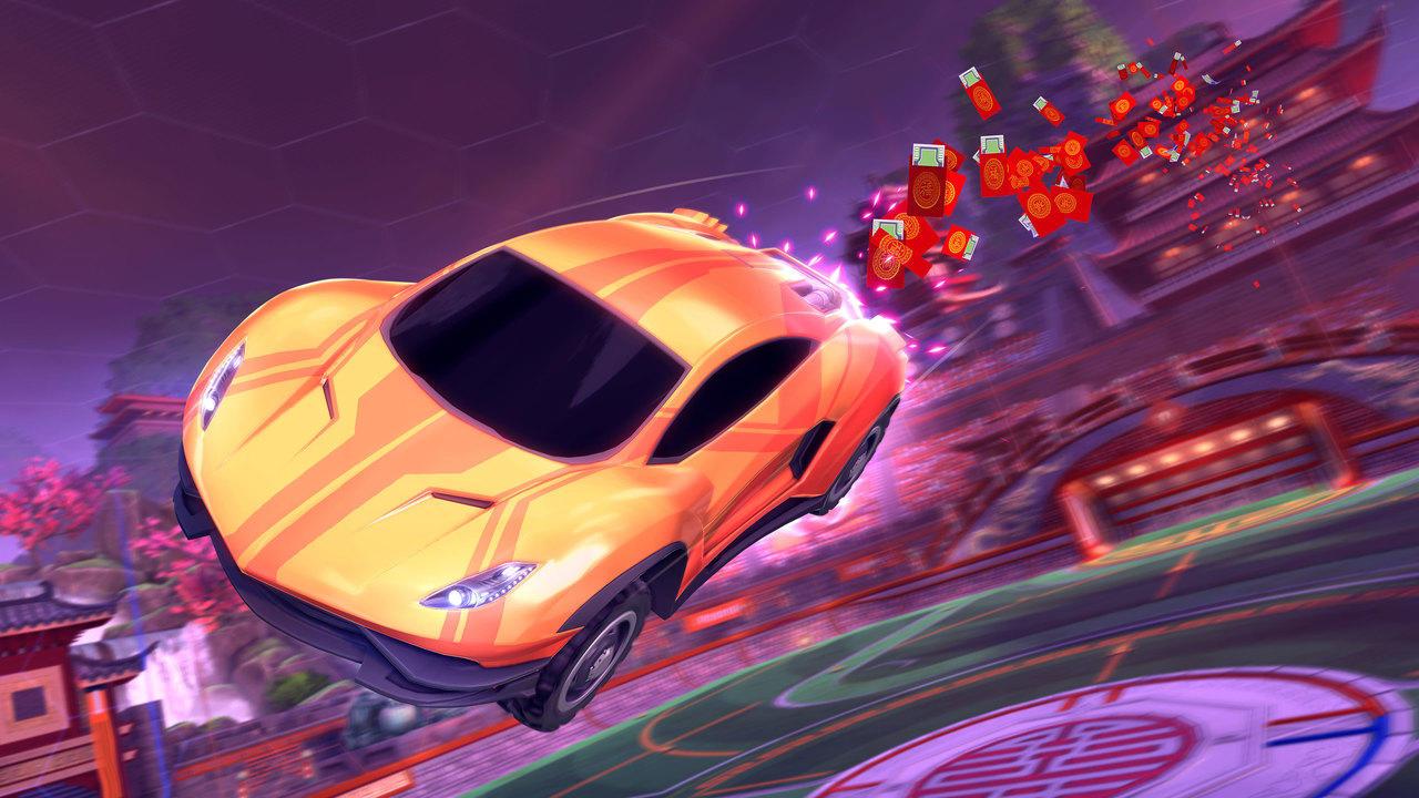 Rocket League's Lucky Lanterns event is now live