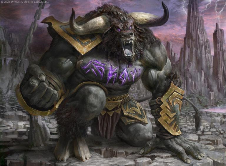 Rage-Scarred Berserker Art Magic Theros Beyond Death