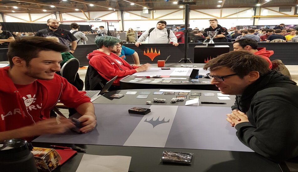 MTG Players Tour Brussels Day One Theros Booster Draft