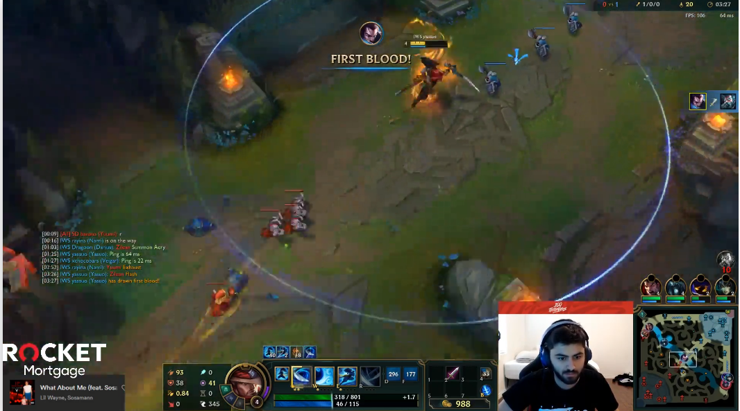 Yassuo shows off his inner Faker in Twitch Rivals play