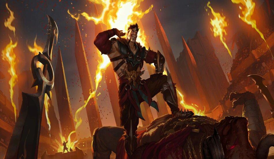 Legends of Runeterra Draven Aggro