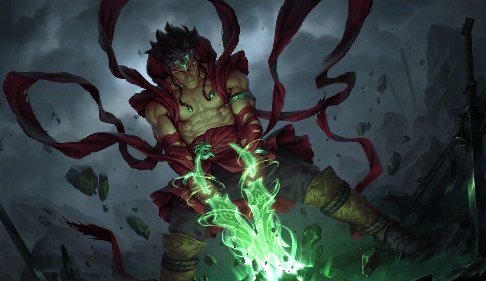 Legends of Runeterra Emerald Awakener