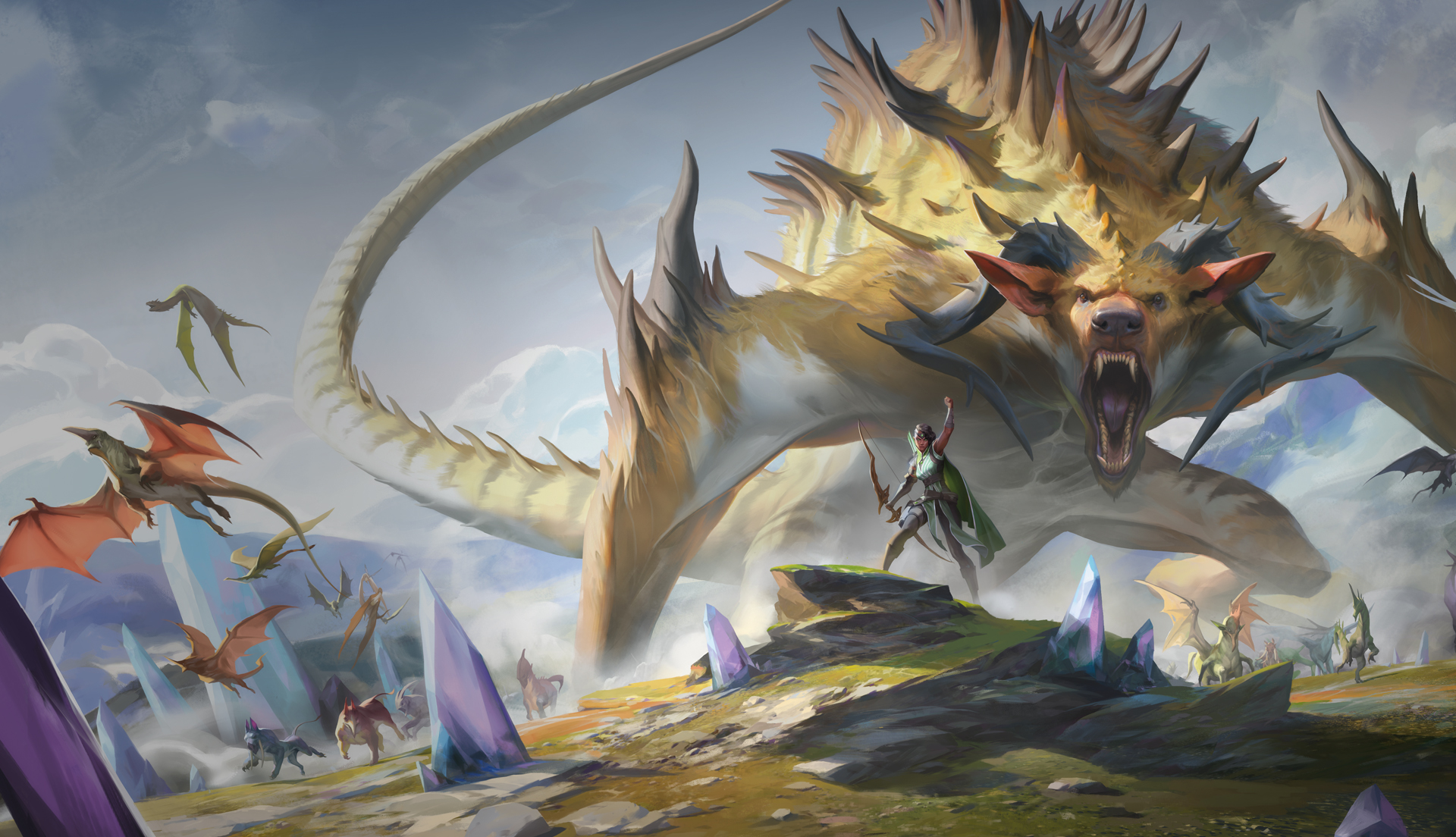 Here's the MTG Ikoria: Lair of the Behemoths spoiler schedule