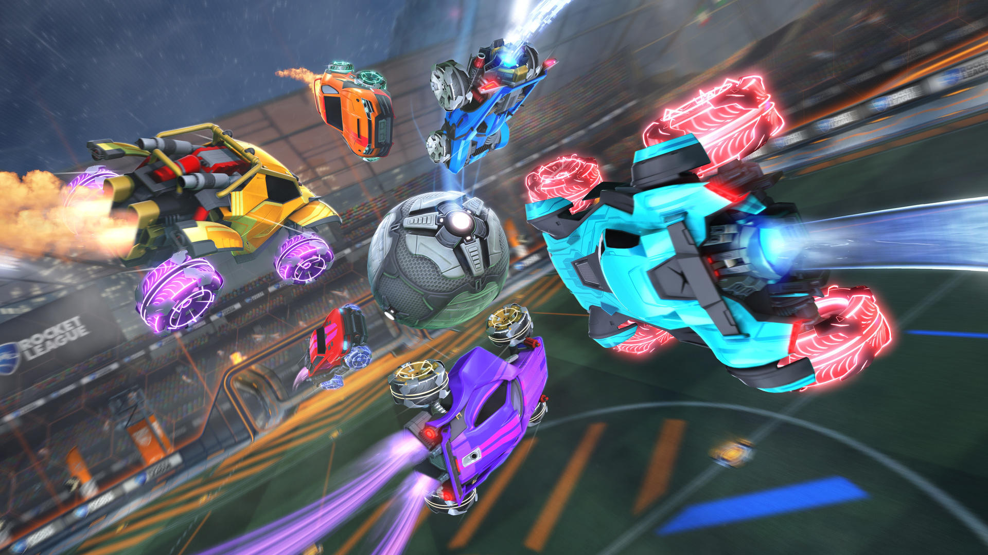 Rocket League sets new player record with nearly 500,000 players across all platforms