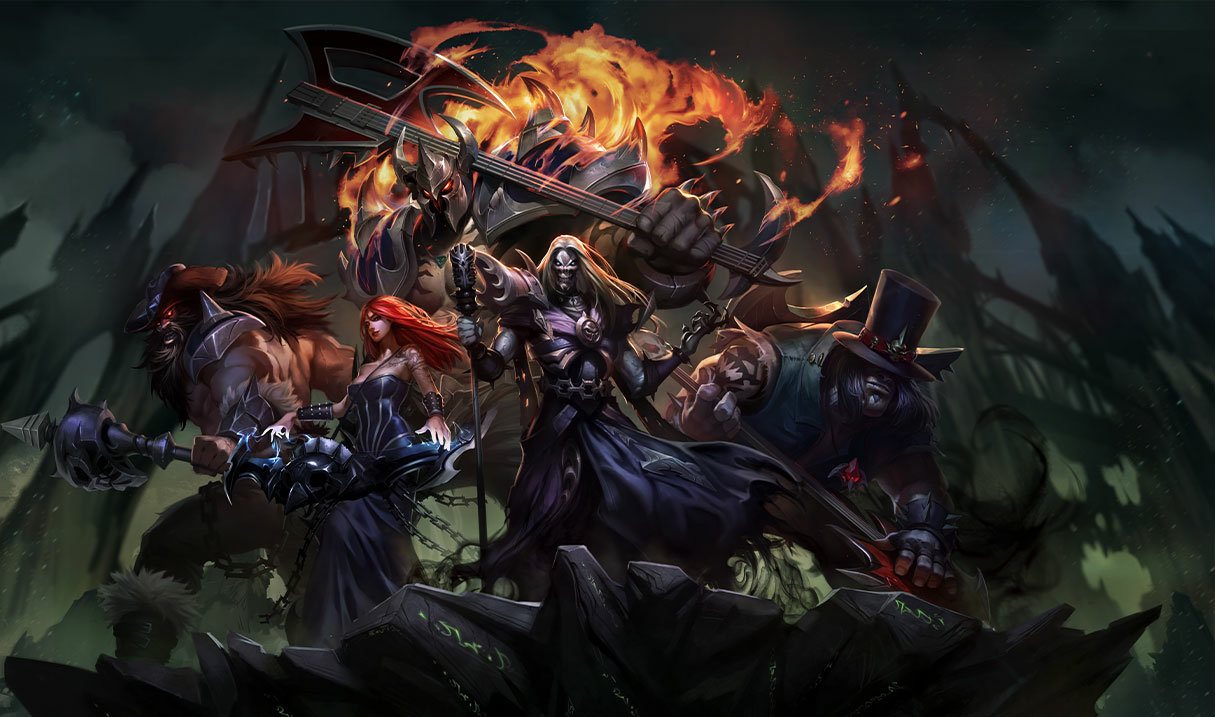 The next Pentakill album is reportedly in the works