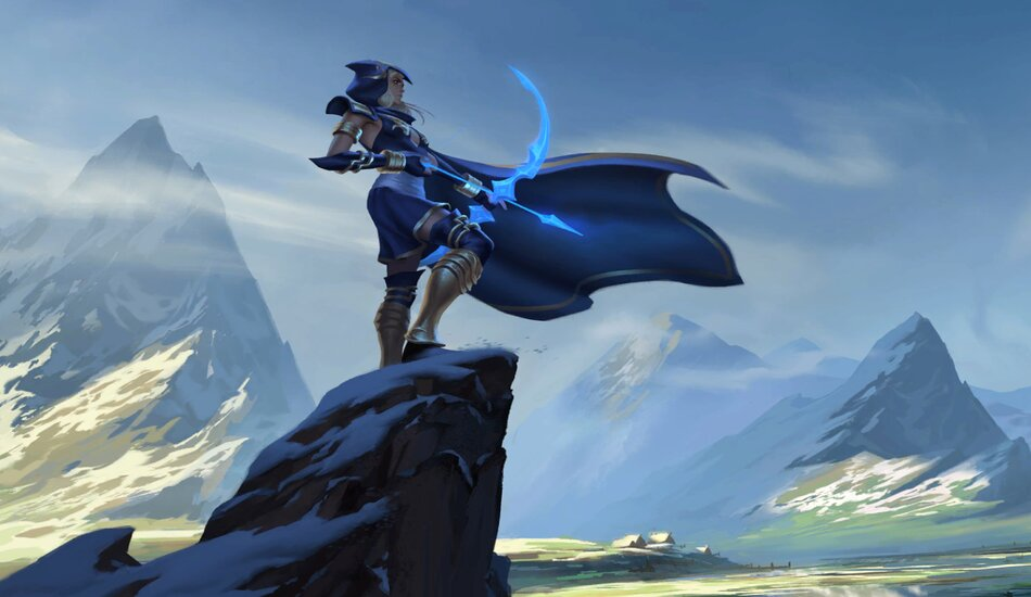 Legends of Runeterra Ashe