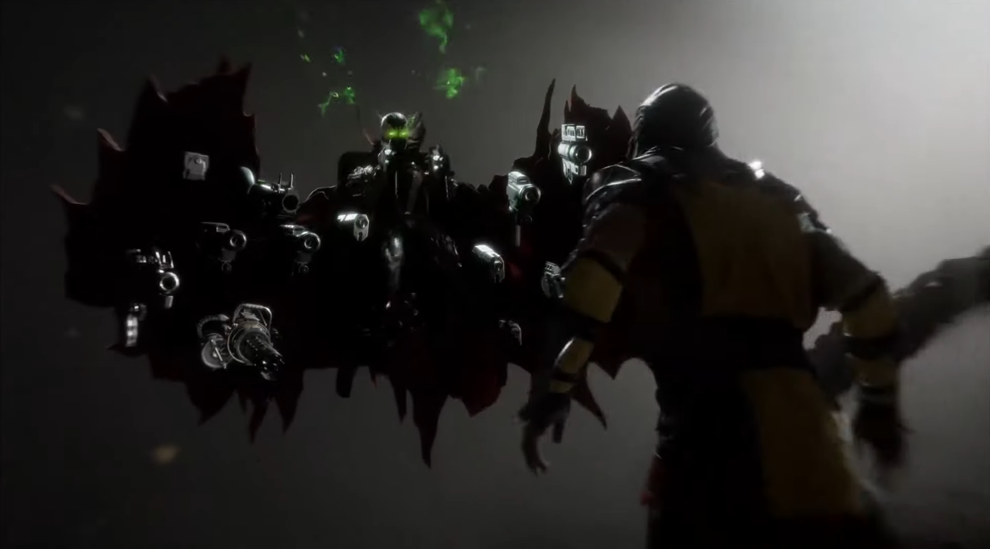 Netherrealm Studios Shows Off Mortal Kombat 11 Spawn Gameplay At