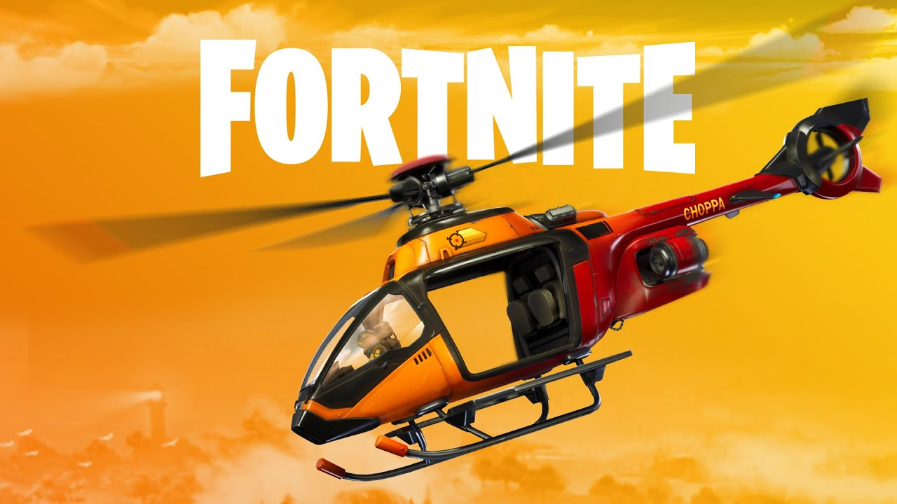 Be careful when jumping out of helicopters in Fortnite—you might die