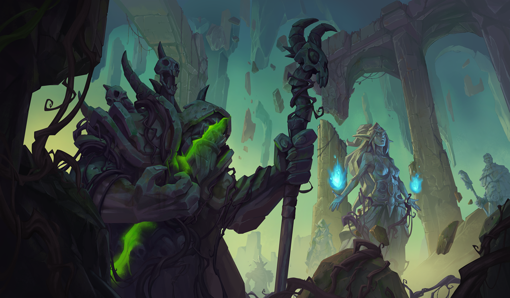 Bogstrok Clacker and Boggspine Knuckles coming in Hearthstone's Ashes of Outland expansion