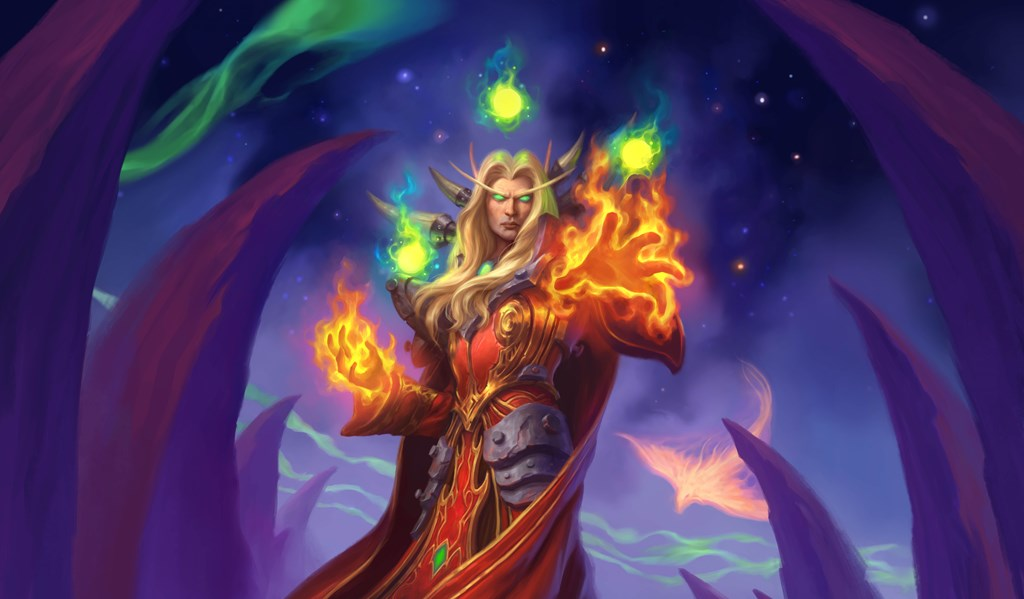 Astromancer Solarian Mage Legendary coming in Hearthstone's Ashes of Outland expansion