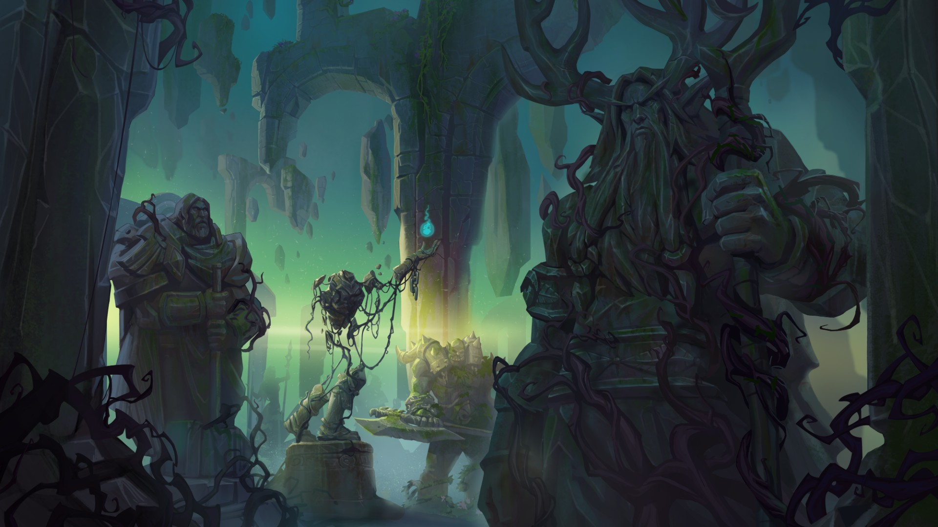 Lady Liadrin and Warmaul Challenger stampede into Hearthstone's Ashes of Outland expansion