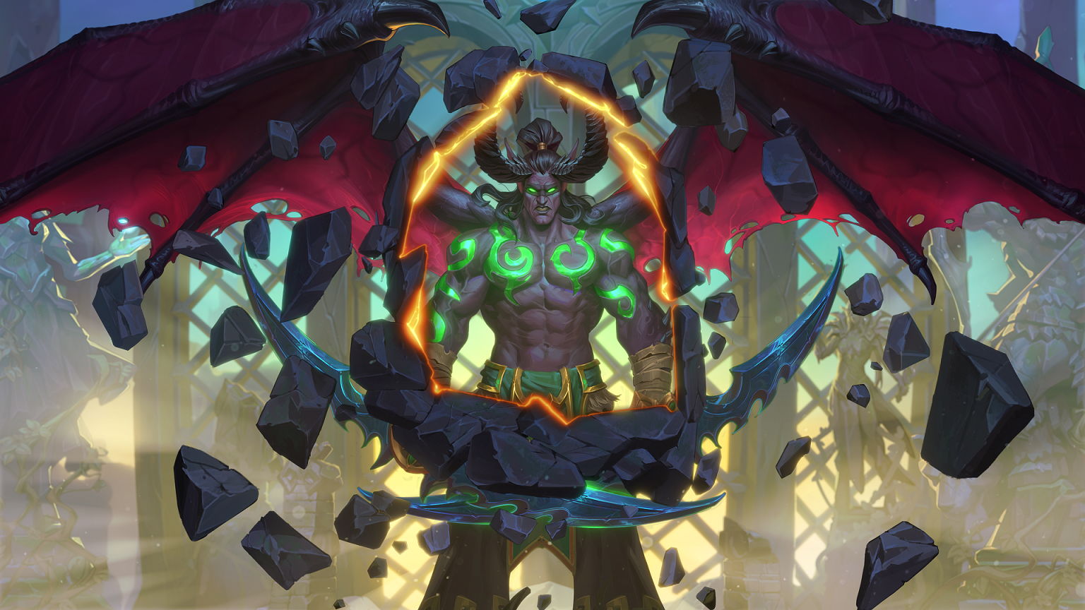 Apexis Smuggler and Apexis Blast join the Mage class in Hearthstone's Ashes of Outland expansion