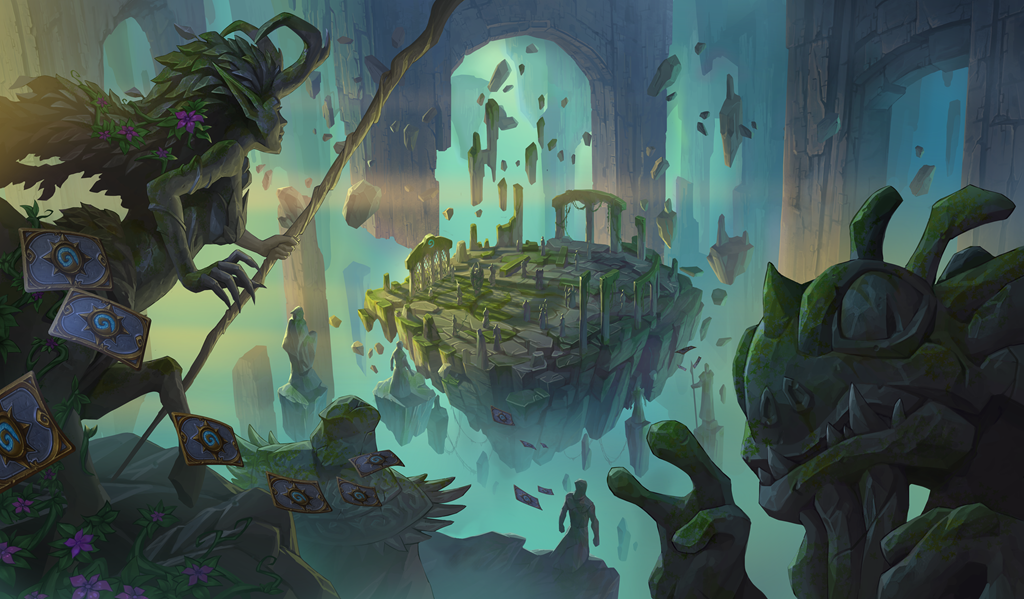 Guardian Augmerchant coming in Hearthstone's upcoming expansion, Ashes of Outland