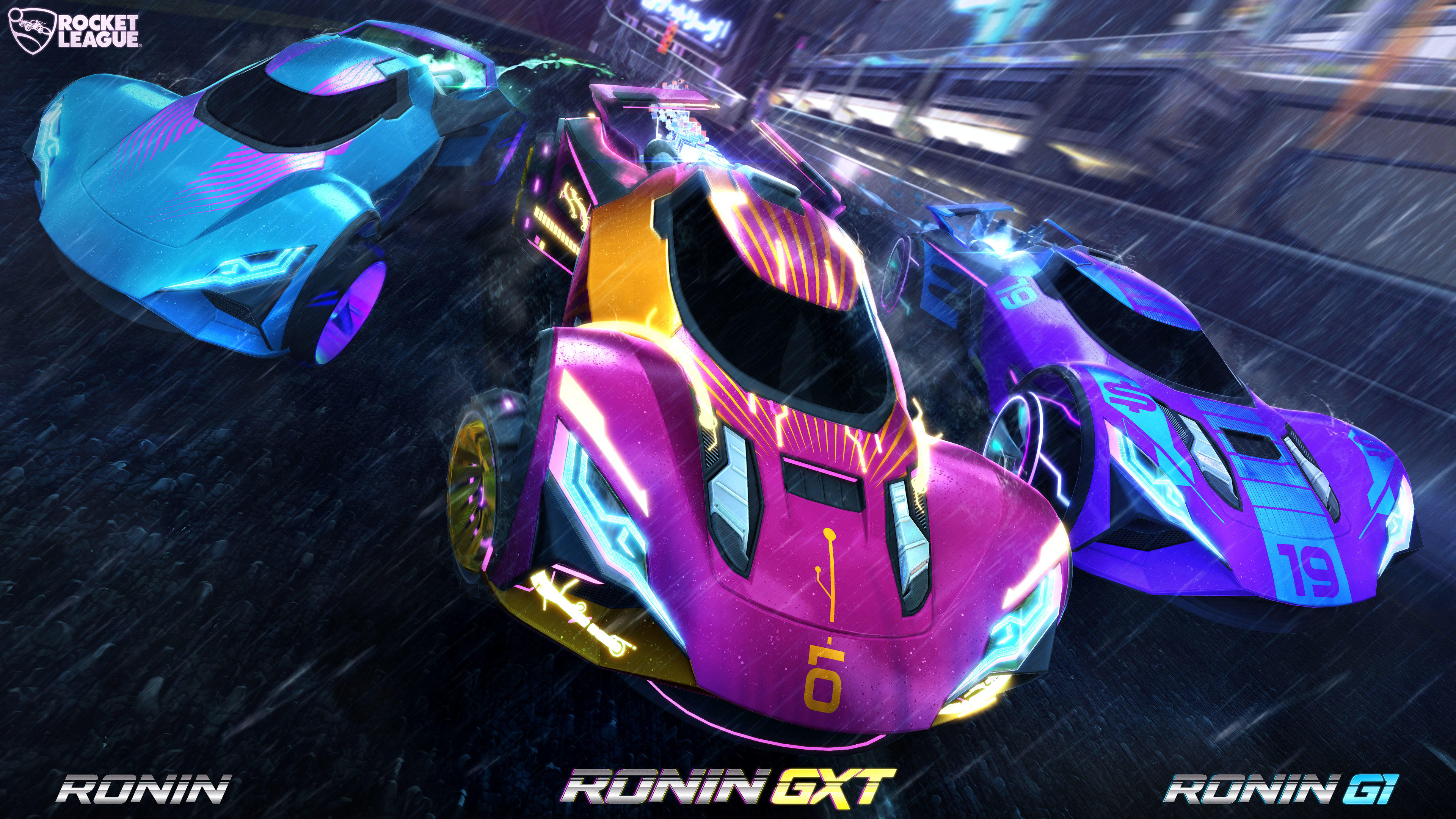 Rocket League kicks off Rocket Pass 6 with the Ronin supercar and a series of prizes