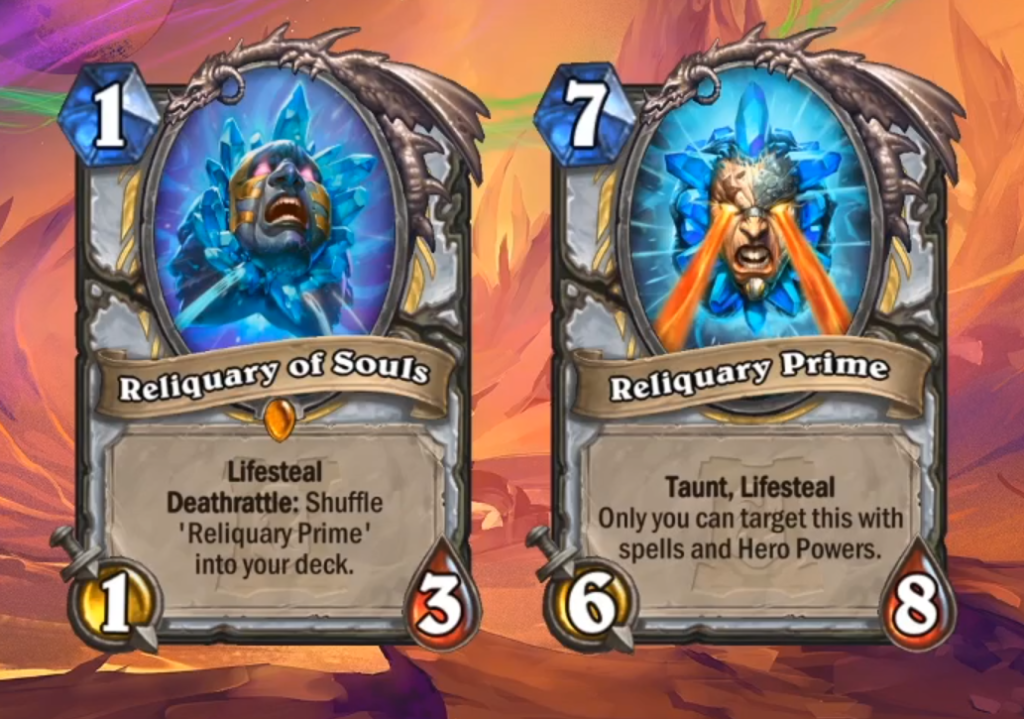 Reliquary of Souls and Reliquary Prime