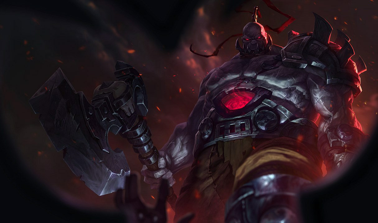 5 Sions dive Nexus Fountain in League's One for All mode—and they just won't die