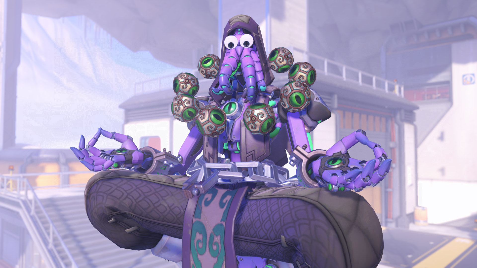Overwatch's April Fools' Prank gives everyone Googly eyes, including B.O.B.
