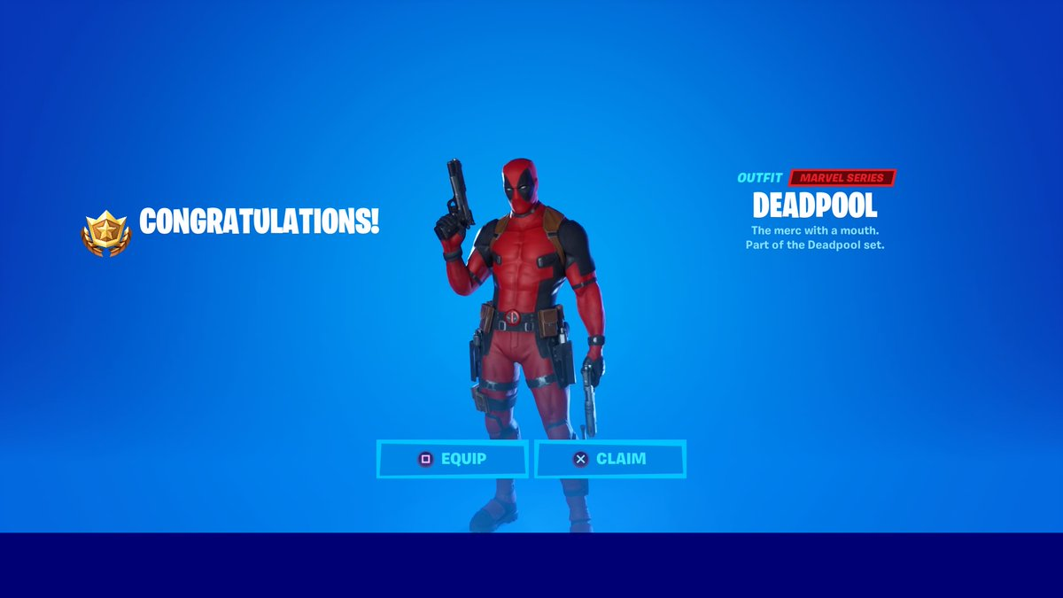 Deadpool's week 7 Fortnite challenges aren't showing up for some players