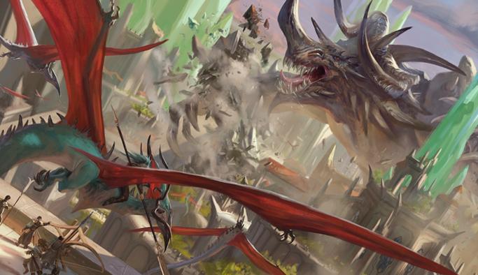 Cover Art Magic Ikoria Lair of Behemoths