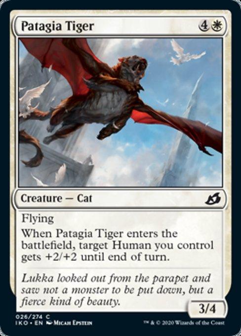 Patagia Tiger Magic Ikoria Lair of Behemoths