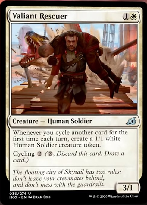 Valiant Rescuer Magic Ikoria Lair of Behemoths