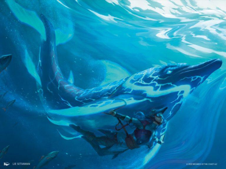 Phase Dolphin Art Magic Ikoria Lair of Behemoths